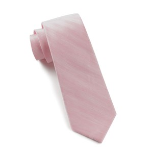invisible stripe baby pink ties