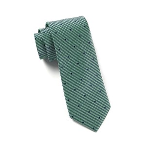 french kiss green teal ties