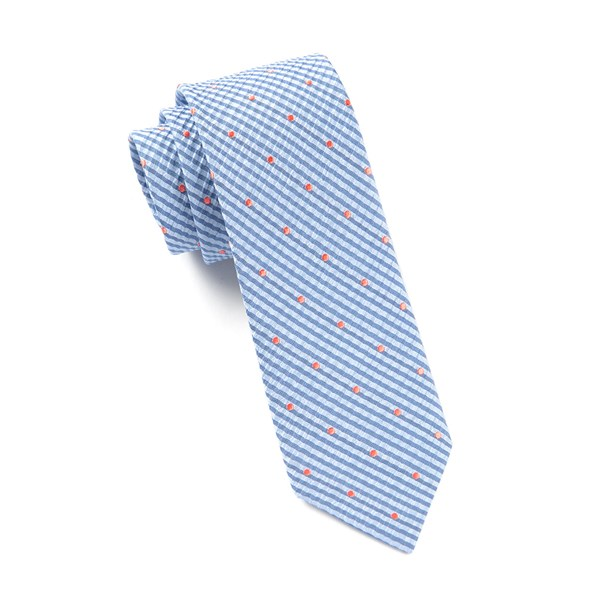 Light Blue French Kiss Tie