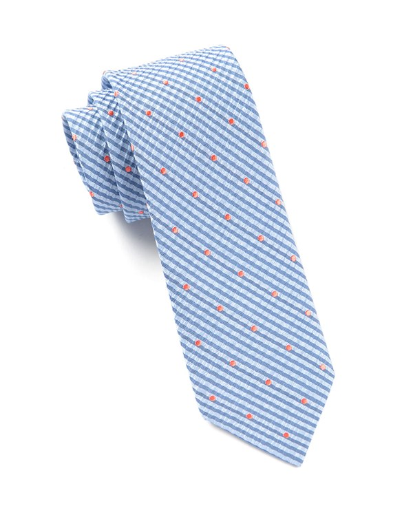 French Kiss Light Blue Tie