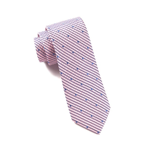 Baby Pink French Kiss Tie