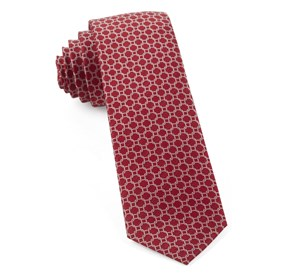 Red Chain Reaction ties