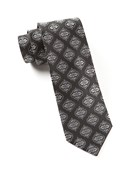 Ties - Hallmark Medallion - Black