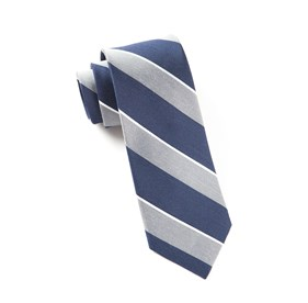 Silver Patina Stripe ties