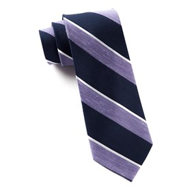 Patina Stripe Lilac Ties