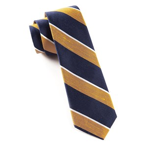 patina stripe orange ties