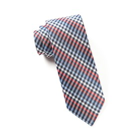 Red Daydream Plaid ties