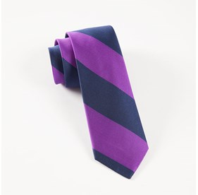 Purple Super Stripe ties