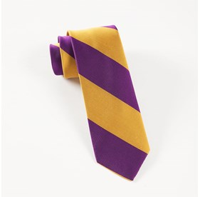 Plum Super Stripe ties