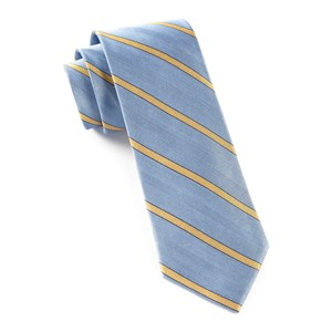 pipe dream stripe light blue ties