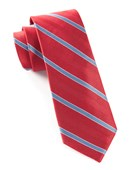 Ties - Pipe Dream Stripe - Red