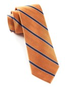 Ties - Pipe Dream Stripe - Apricot