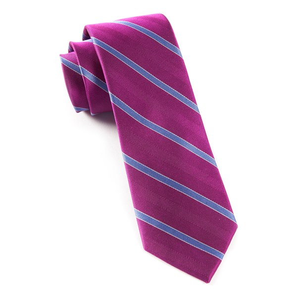Azalea Pipe Dream Stripe Tie