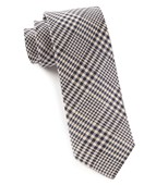 Ties - Huntington Plaid - Light Champagne