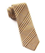 Ties - Huntington Plaid - Cantaloupe