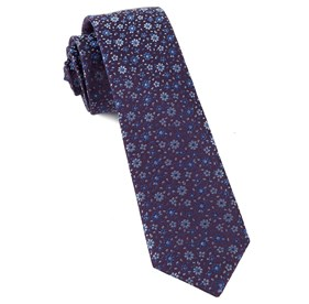Light Purple Milligan Flowers ties