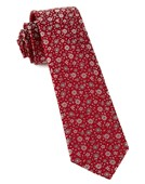 Ties - Milligan Flowers - Red
