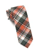 Ties - Sierra Plaid - Rust