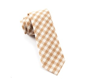 Champagne Fall Colorful Plaid ties