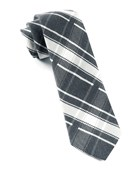 Ties - Abbey Plaid - Black