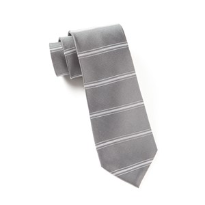 ripon horizontal stripe grey ties