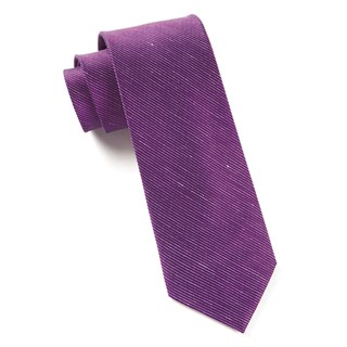 Fountain Solid Deep Azalea Tie