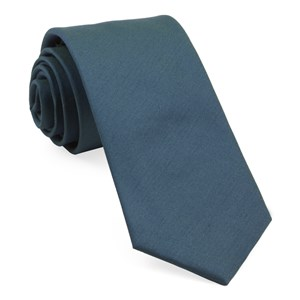 charlotte solid teal ties