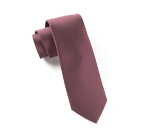 Burgundy Charlotte Solid ties