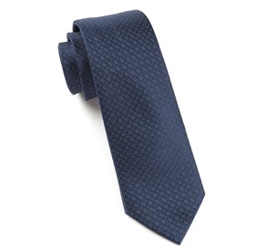 Navy Speckled ties
