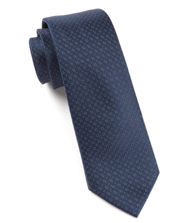 Speckled Navy Tie