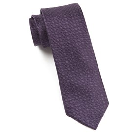 Eggplant Speckled ties