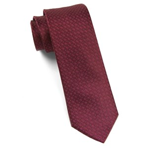 speckled burgundy ties