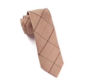 Tan Sheridan Plaid ties