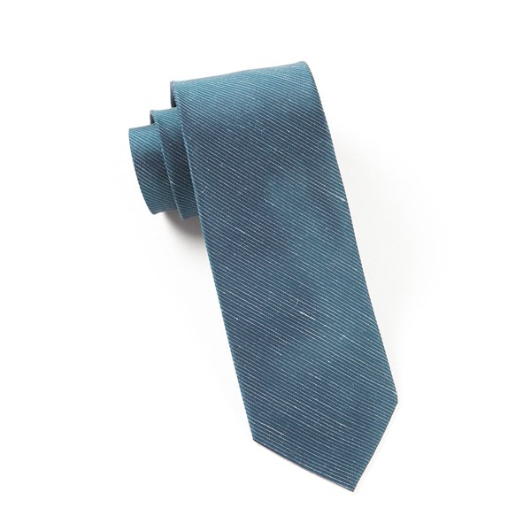 Deep Serene Blue Fountain Solid Tie