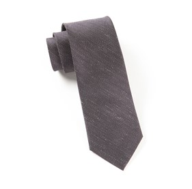 Fountain Solid Deep Eggplant Ties