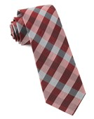 Ties - Gingham Fusion - Red