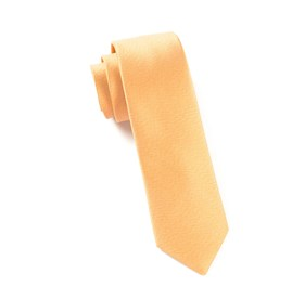 Melange Twist Solid Mustard Ties
