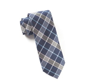Navy Catalyst Plaid ties