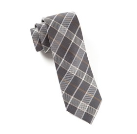 Catalyst Plaid Charcoal Ties