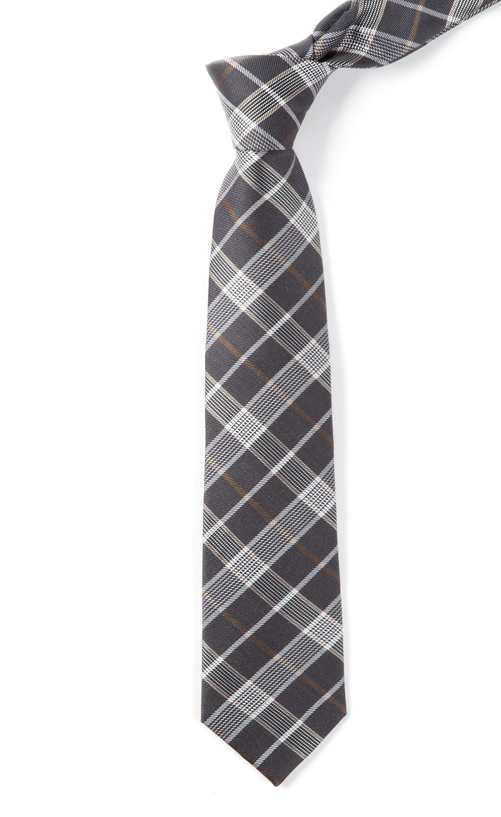 catalyst plaid ties charcoal ties bow ties and
