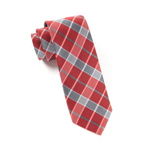catalyst plaid red ties