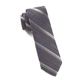 Purple Lucky Day Stripe ties