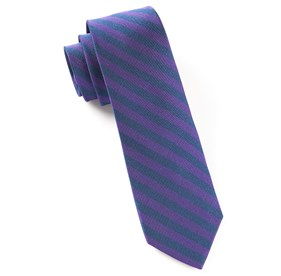 Purple Tunnel Stripe ties