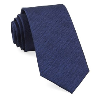 debonair solid royal blue ties