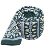 Ties - Sioux Knit - Hunter Green