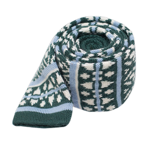 sioux knit hunter green ties