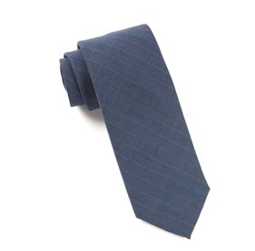 Blue Clark Stripe ties