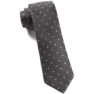 grenafaux dots bullet grey ties