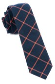 Ties - Midway Pane - Orange