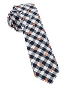Ties - Swimmer Gingham - Orange